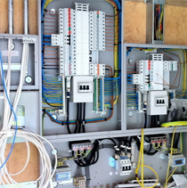 We design, install and maintain large scale Electrical projects.